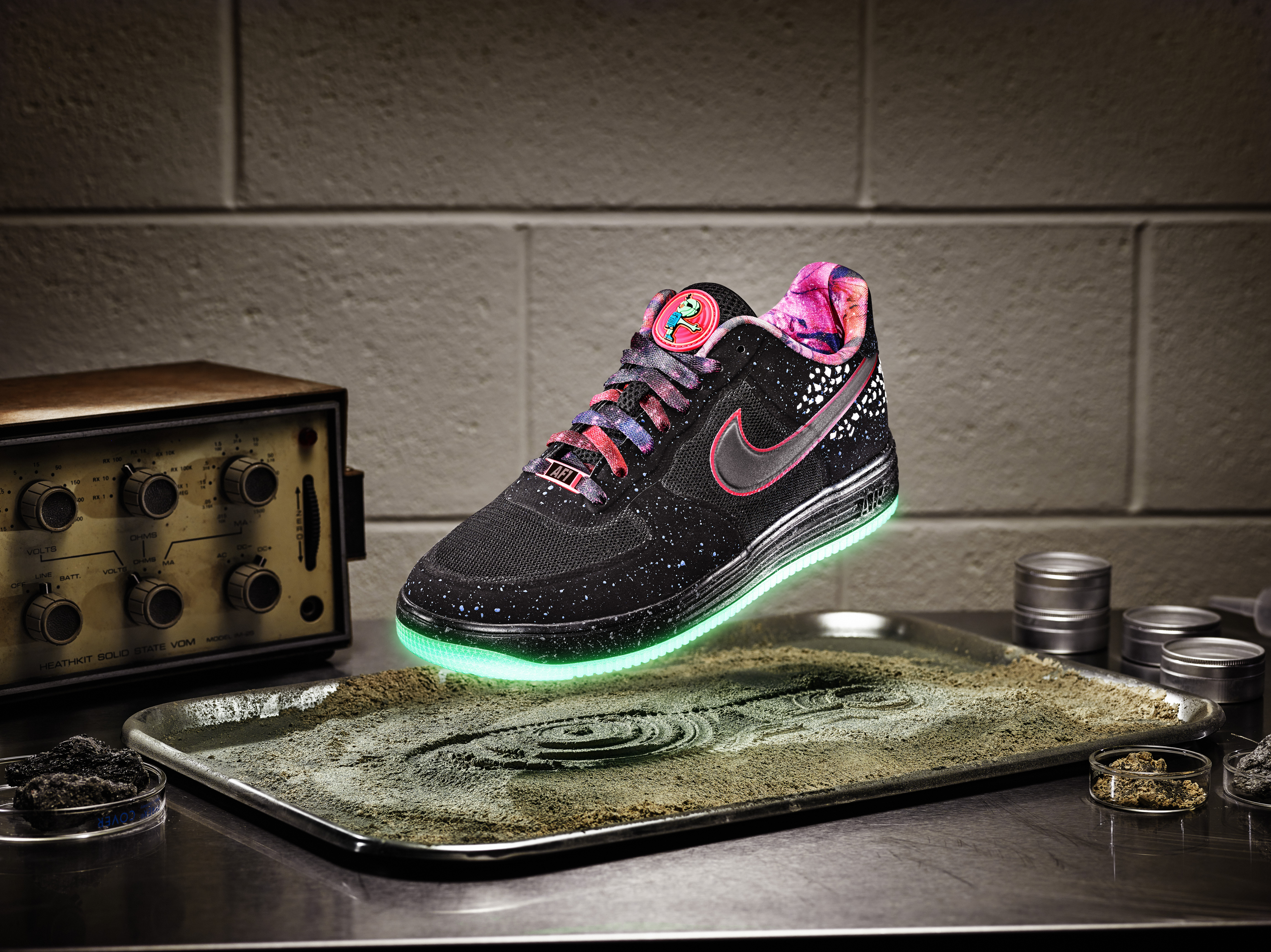 2c28f069fdb ... All Star 2013 Area 72 Extraterrestrial Clothing Collection Nike  Sportswear engineers top-secret Area 72 Collection feat ...