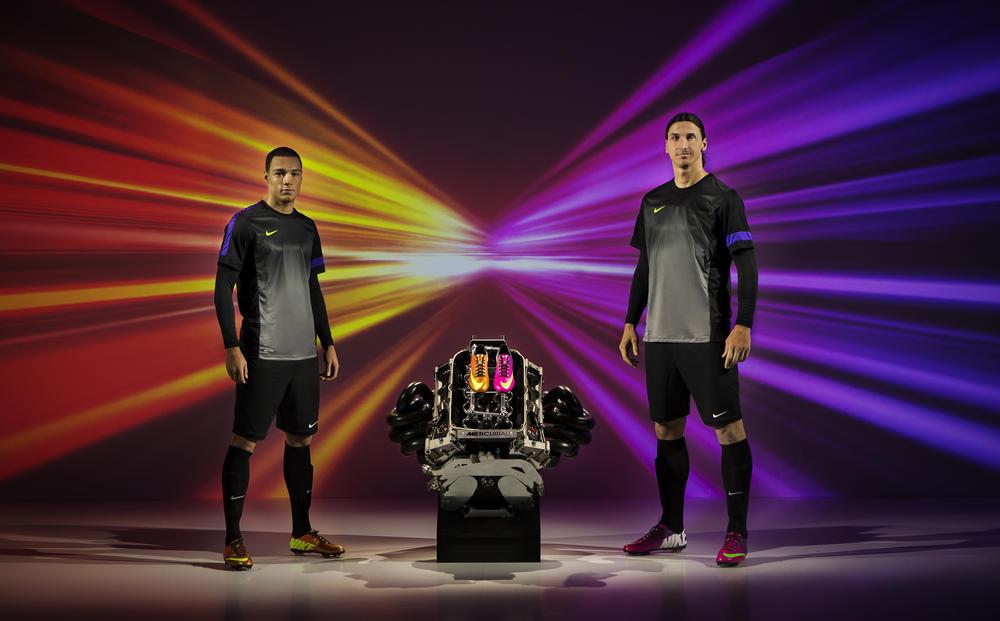 Zlatan Ibrahimovic and Gregory van der Wiel headline Mercurial boot Paris event