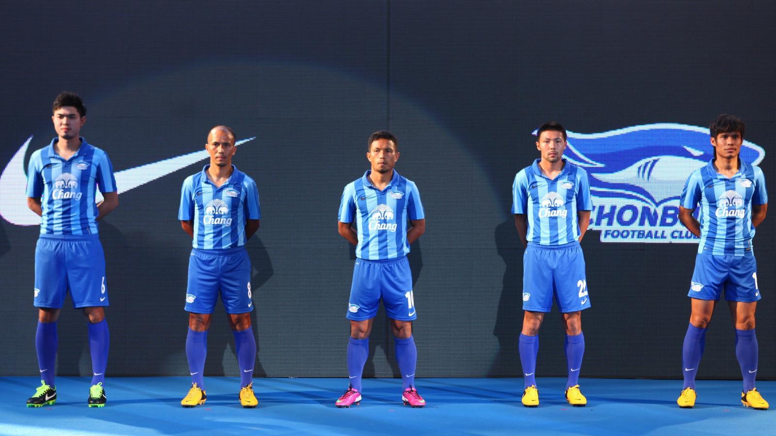 Chonburi FC Club Kit HOME 2013/2014