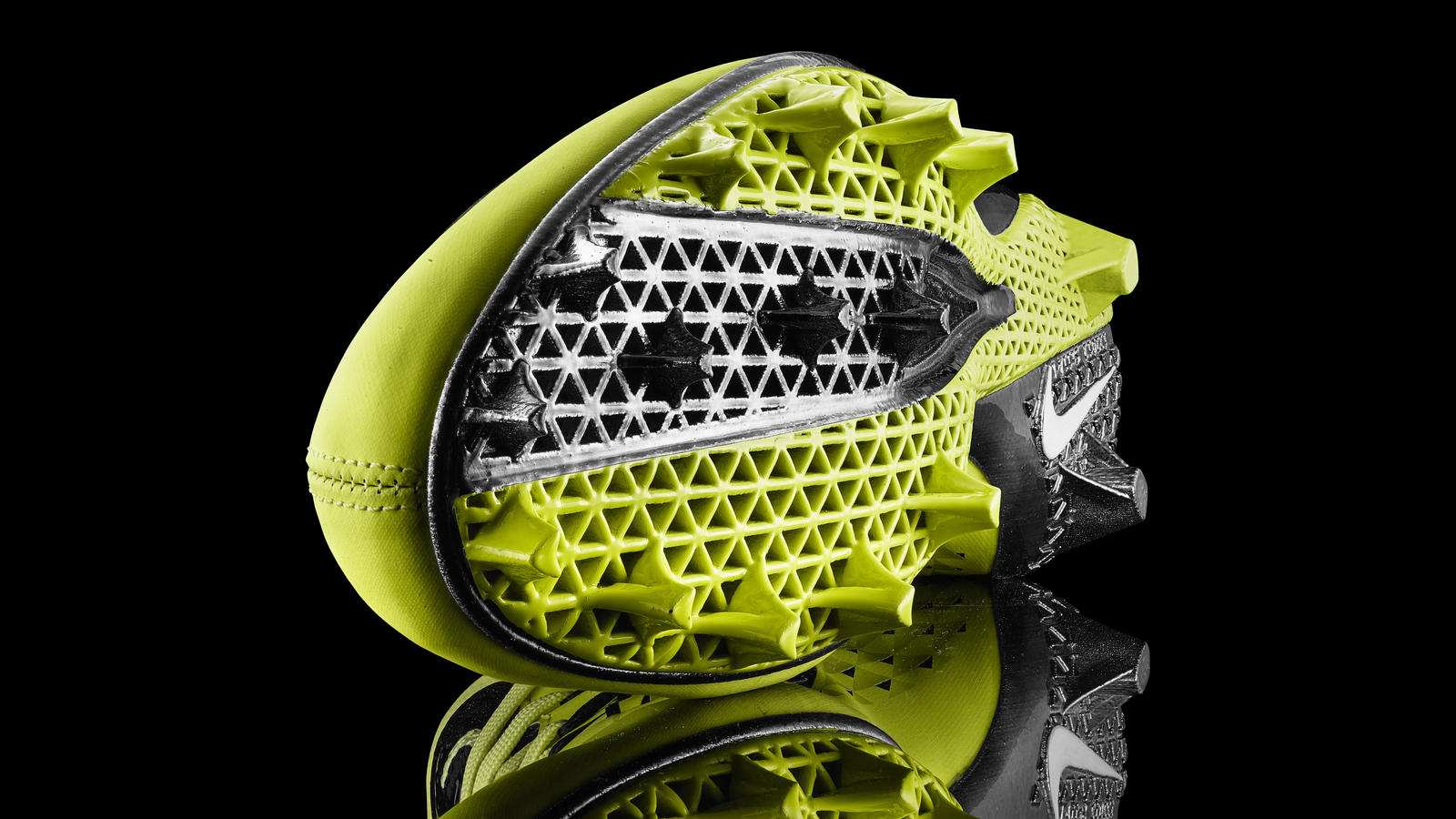 3d Printed Shoes >> Nike News - Nike debuts first-ever football cleat built ...