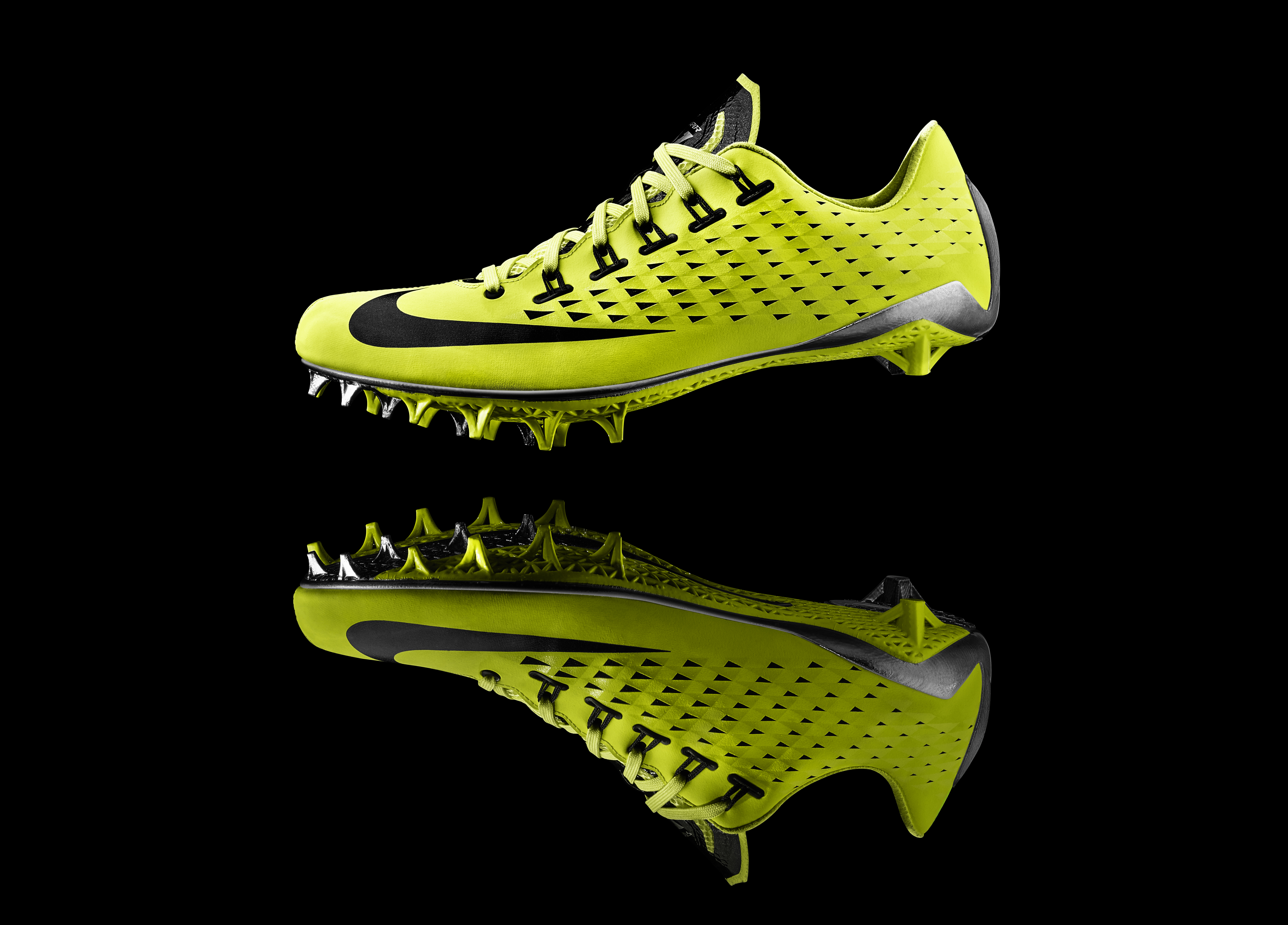 LO � HI. Nike debuts first-ever football cleat built using 3D printing  technology. Product News