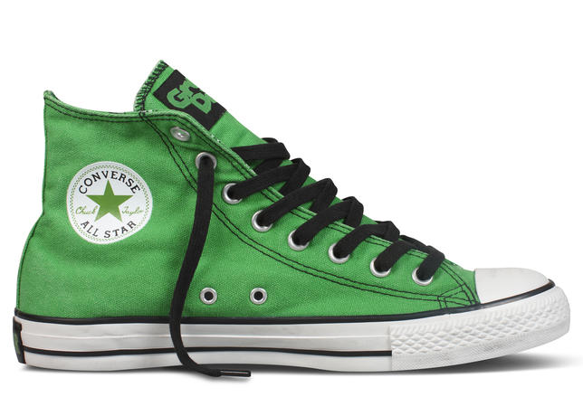c7046915ae94 The Converse Chuck Taylor All Star Green Day Sneakers - Pursuit Of ...