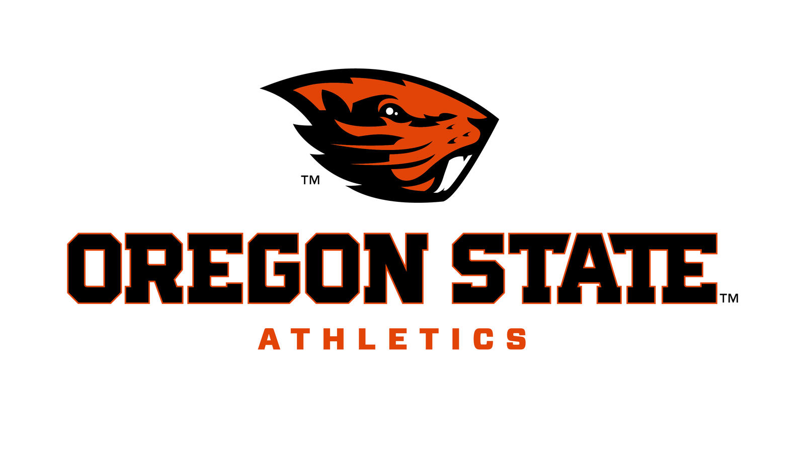 Oregon State Athletics Logo Lockup