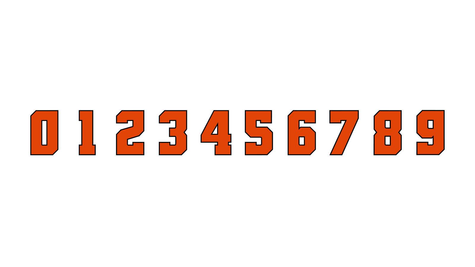 Osu Beavers Numbers