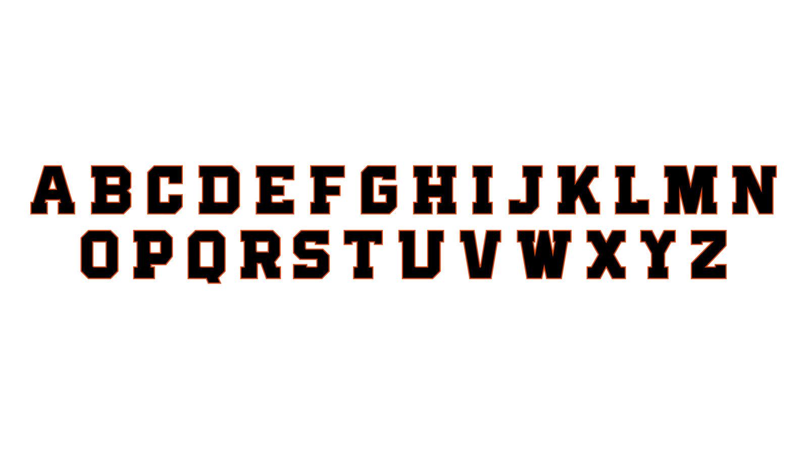 Osu Beavers Typeface