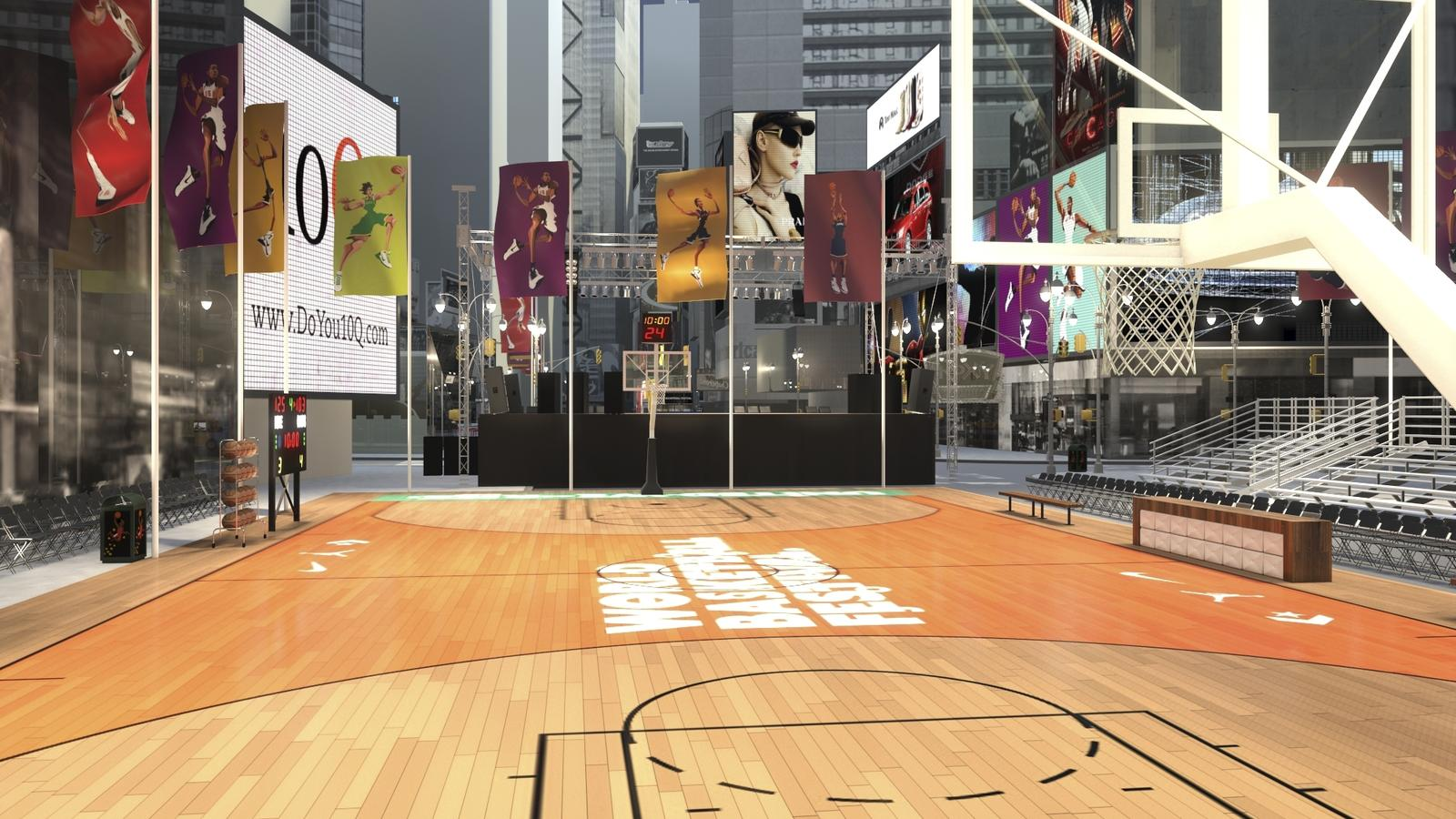 Music and Basketball Unite in NYC