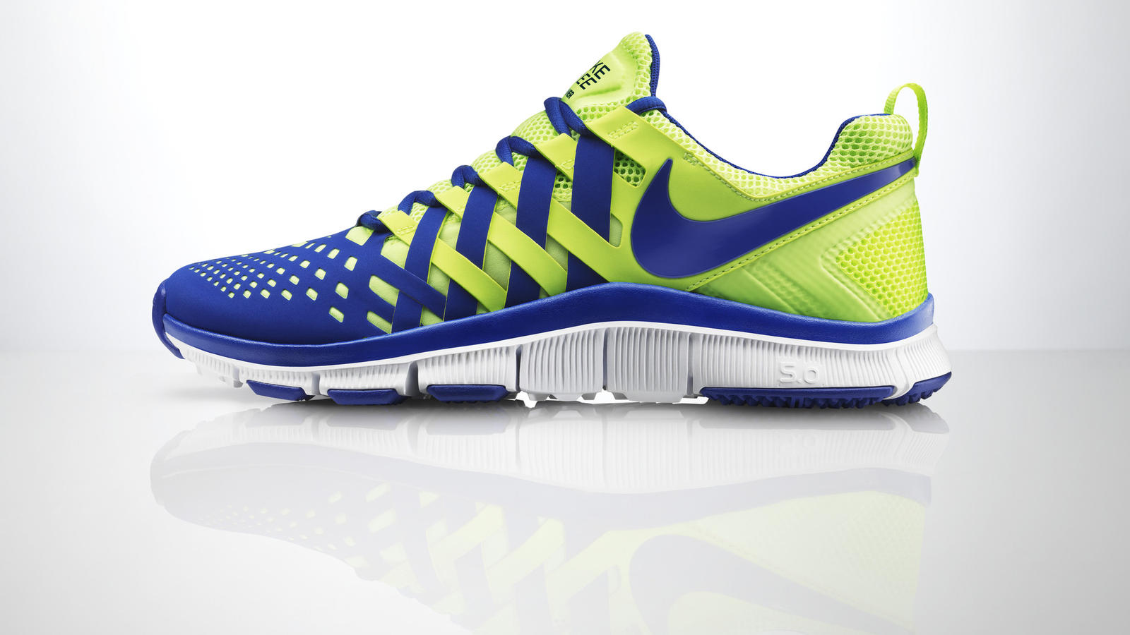 nike free finger trap trainer 5.0 sneakers with wheels