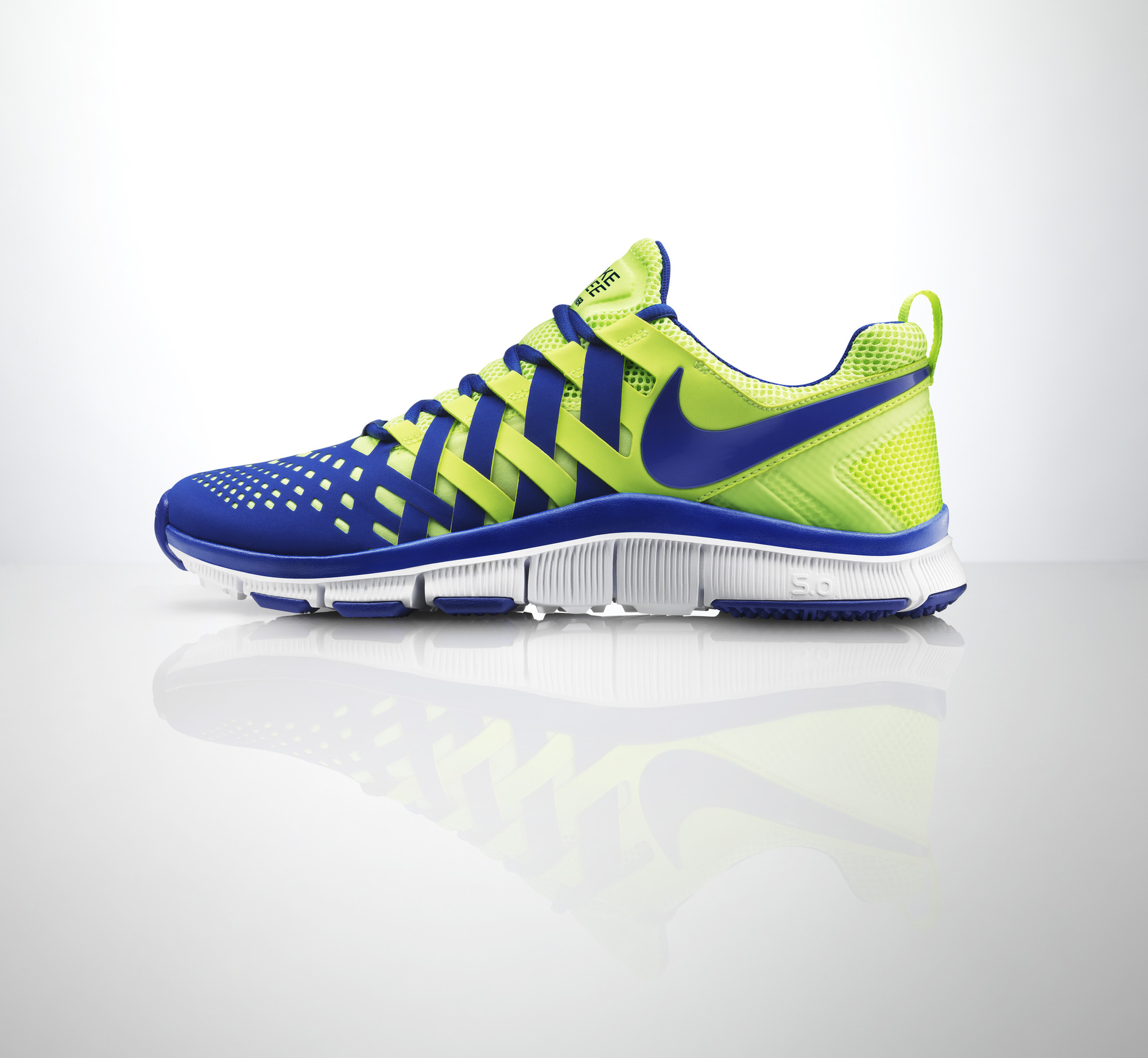 LO · HI. Introducing the Nike Free Trainer 5.0