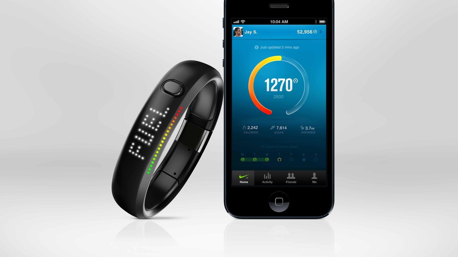 Nike+ FuelBand Blacksteel