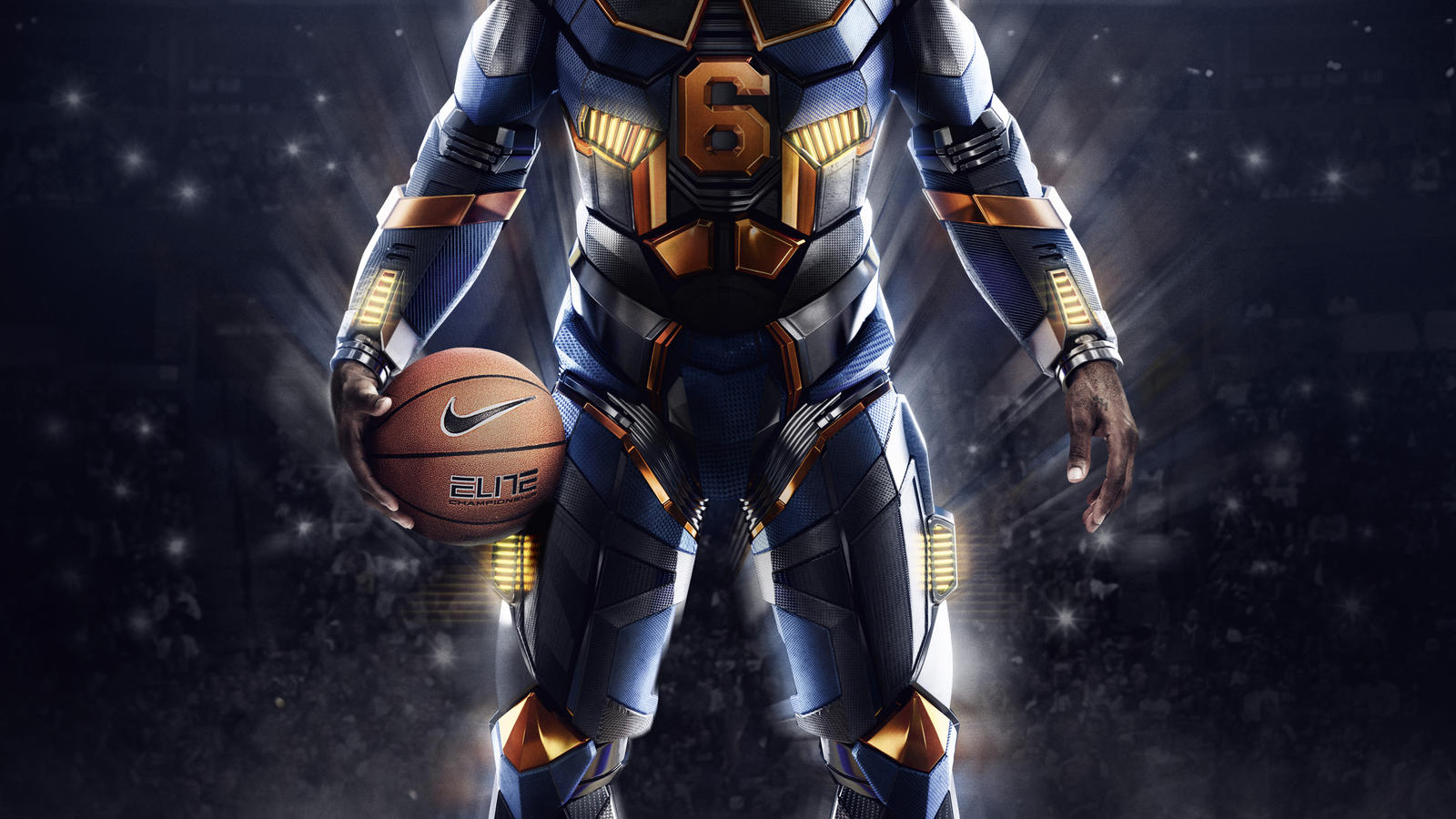 Nike Nba Marvel Wallpaper