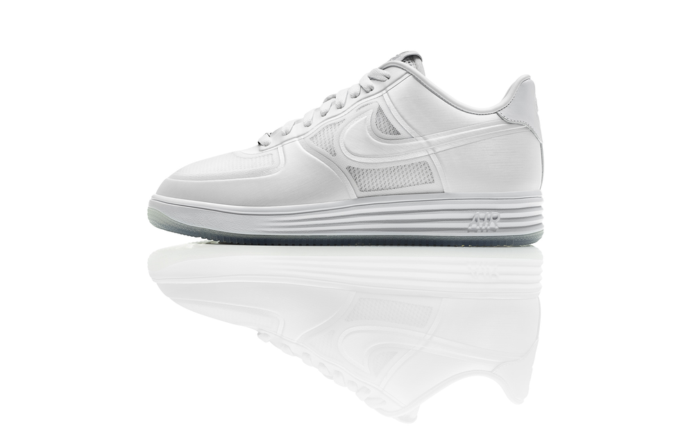 "Stay Cool In The Nike Lunar Force 1 ""White Ice"""