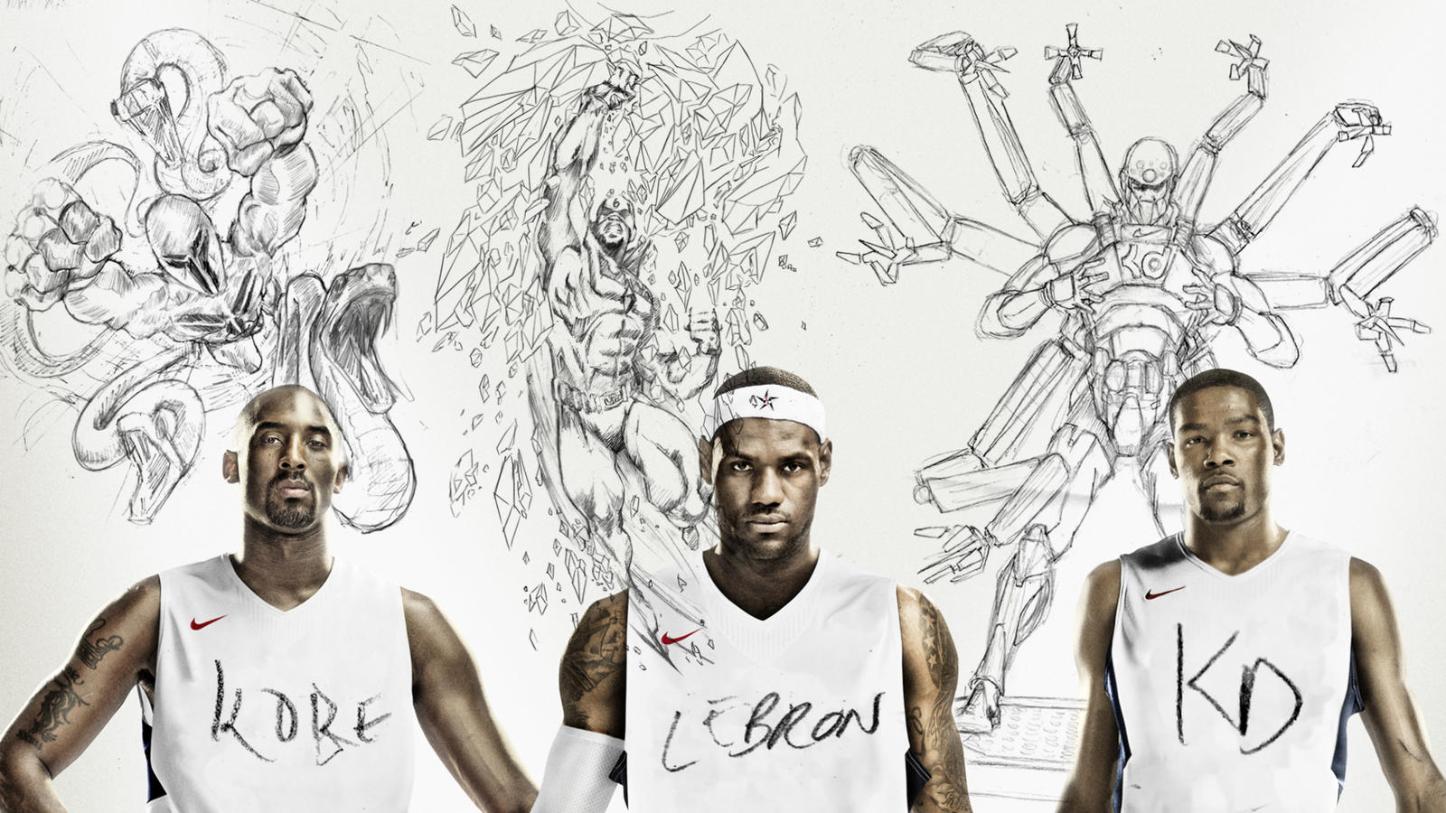 Nike Basketball's Big Three