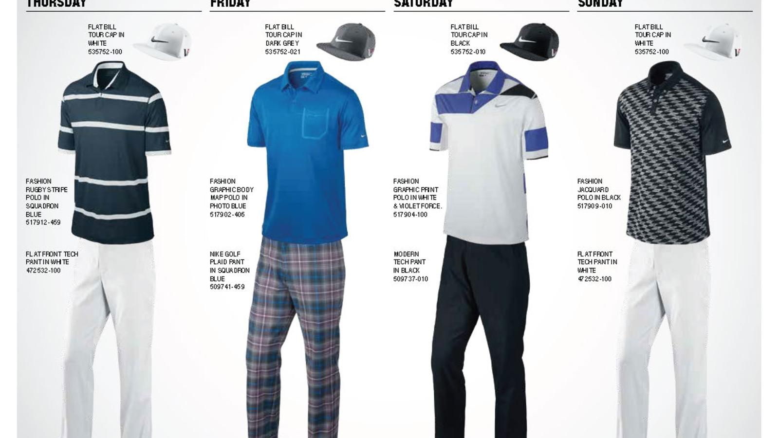 7a225a0760f Nike Golf Unveils Athlete Looks for First Major Championship of the ...