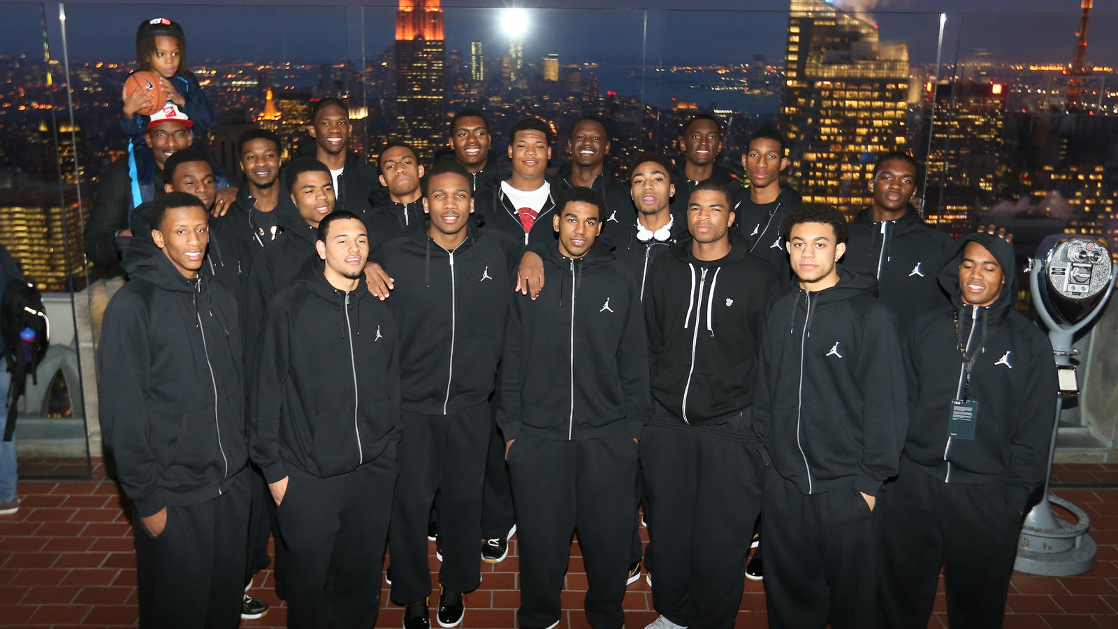 JBC NATIONAL TEAM AT THE TOP OF THE ROCK