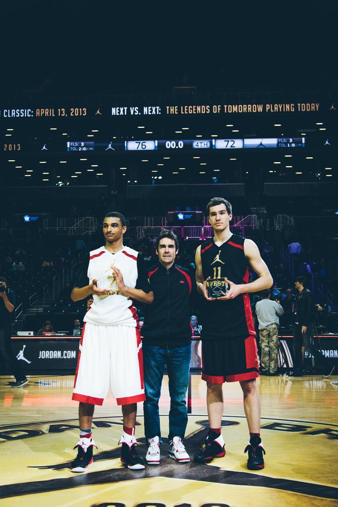 Jamal Murray and Lorvo Mazalin MVPs of the Jordan Brand Classic International Game