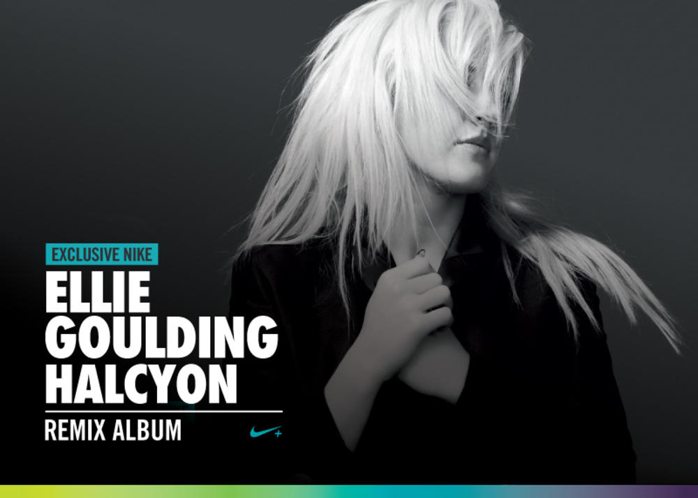 Nike and Platinum-Selling Artist Ellie Goulding Inspire and Motivate Runners
