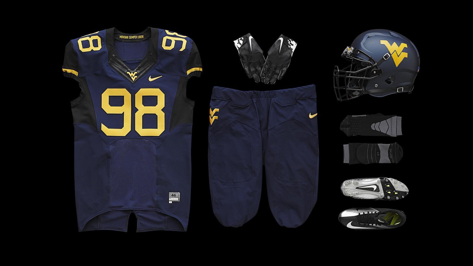 West Virginia Unveils New Football Uniforms For 2013 Season