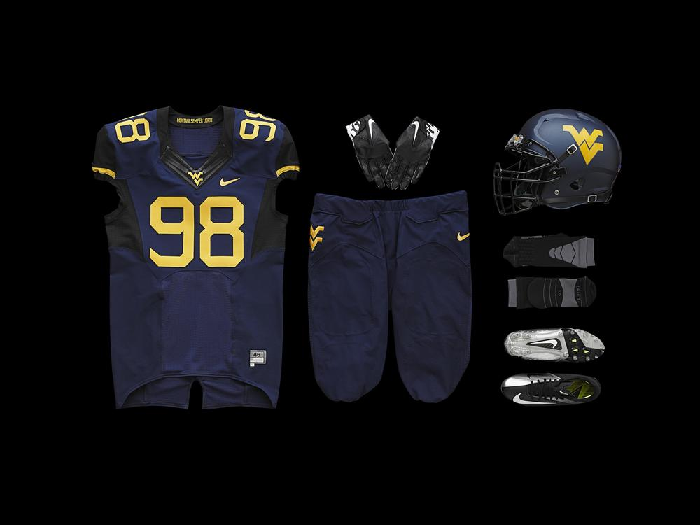 West Virginia Unveils New Football Uniforms for 2013 Season