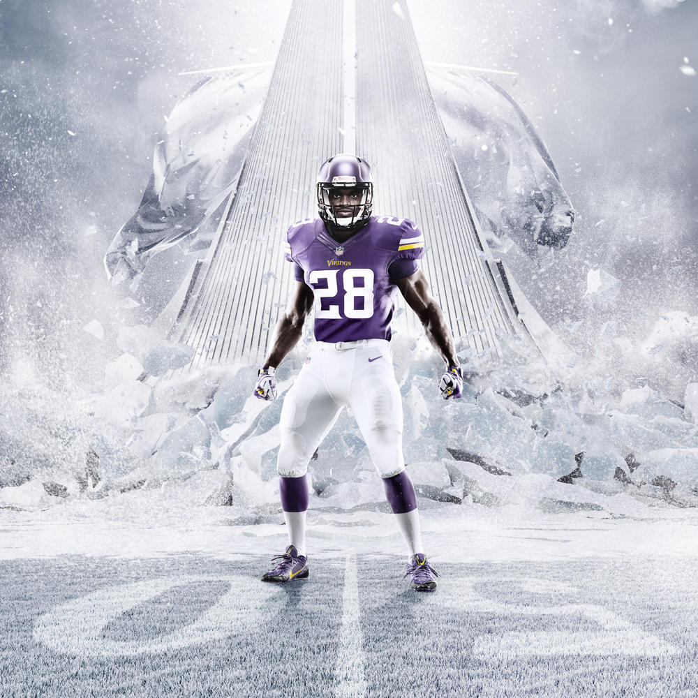 Minnesota Vikings and Nike Unveil New Uniform Design for 2013 Season