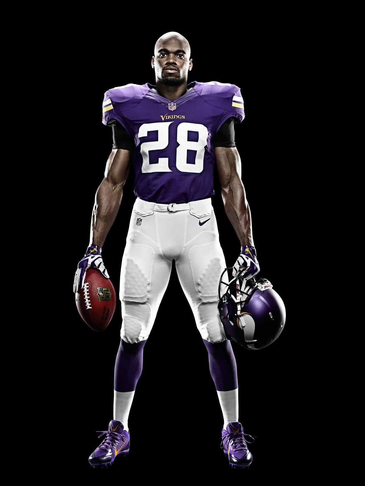 Minnesota Vikings and Nike Unveil New Uniform Design for 2013 ...