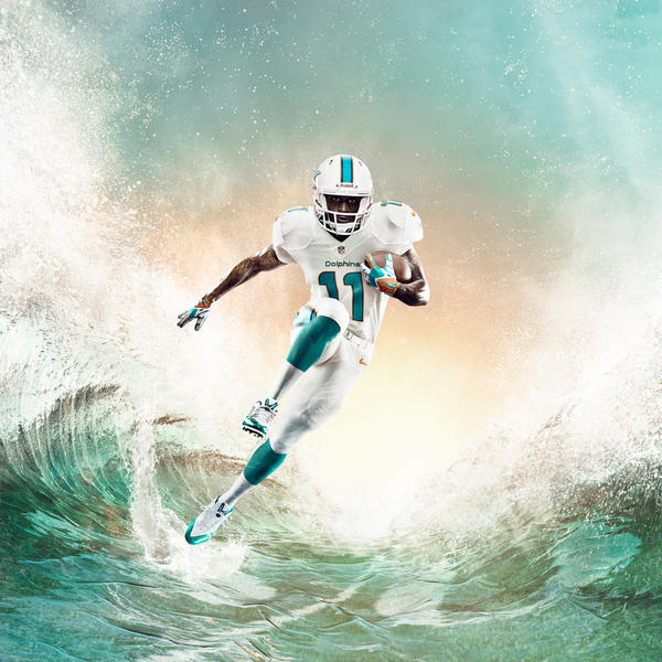 Miami Dolphins Unveil New Uniform Design for 2013 Season