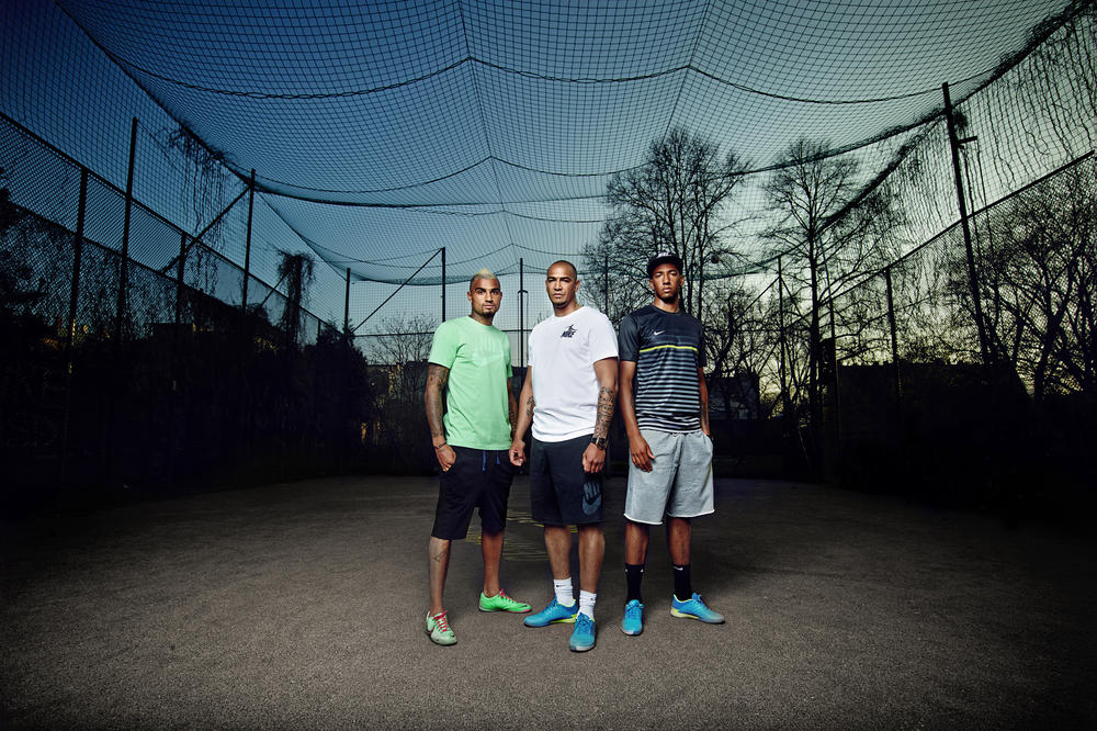 Raised on Concrete: The Boateng Brothers Kick it Around at Childhood Court