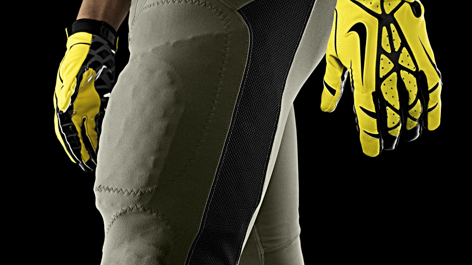 Nike Football Uniform Uof O Away Pant Gloves
