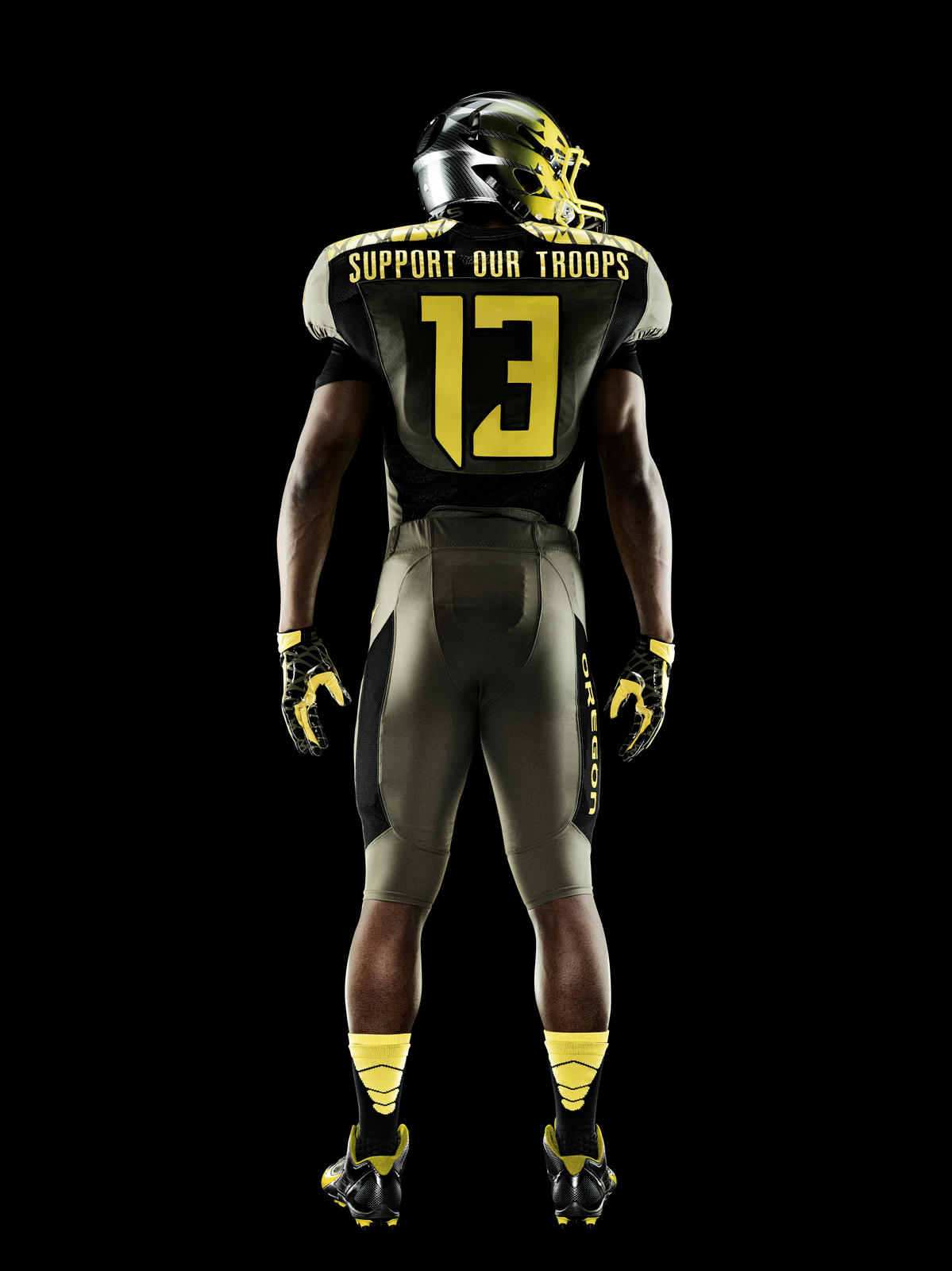 Oregon Ducks Spring Game Uniforms Honor Service Men And