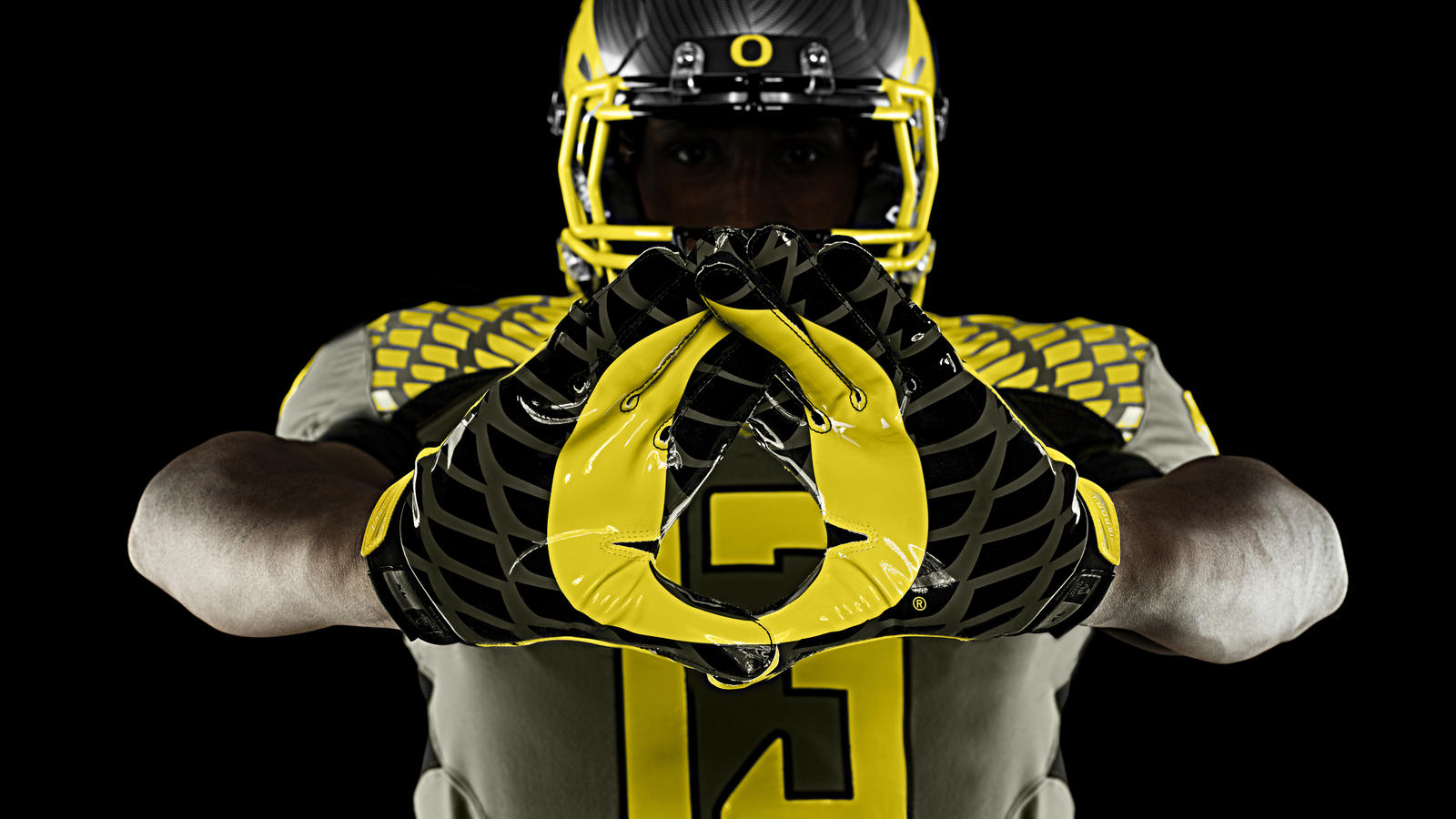 wholesale dealer d8aef f99aa Oregon Ducks' Spring Game Uniforms Honor Service Men and ...