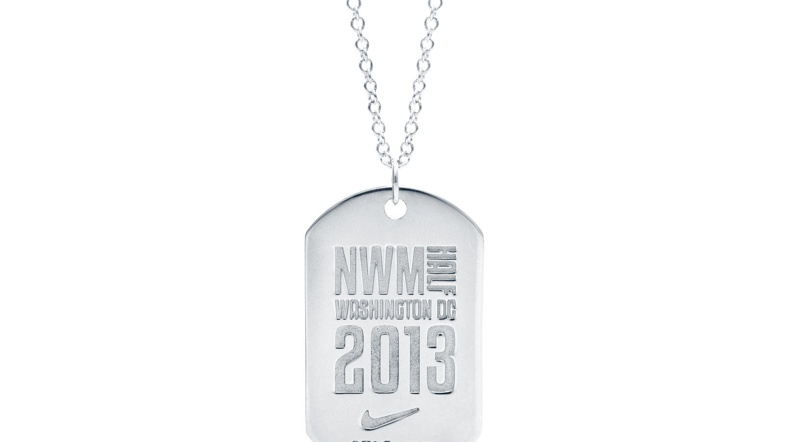 Nike Women Half Marathon Finisher's Necklace
