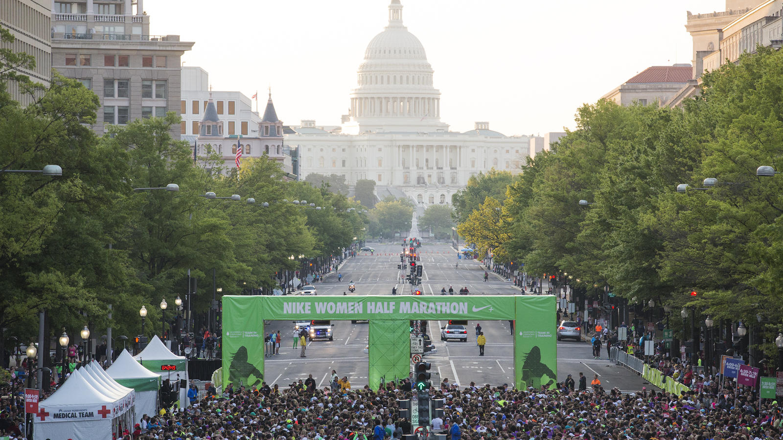 Nike Women Half Marathon DC Starting Line