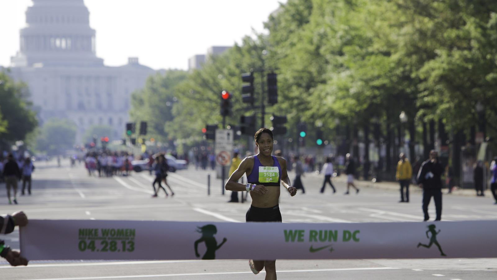 Winner of 2013 Nike Women Half Marathon Washington, D.C.