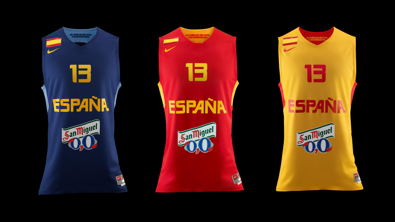 cheap for discount 1f834 d15f6 Nike unveils new Spanish National Basketball Team Collection ...