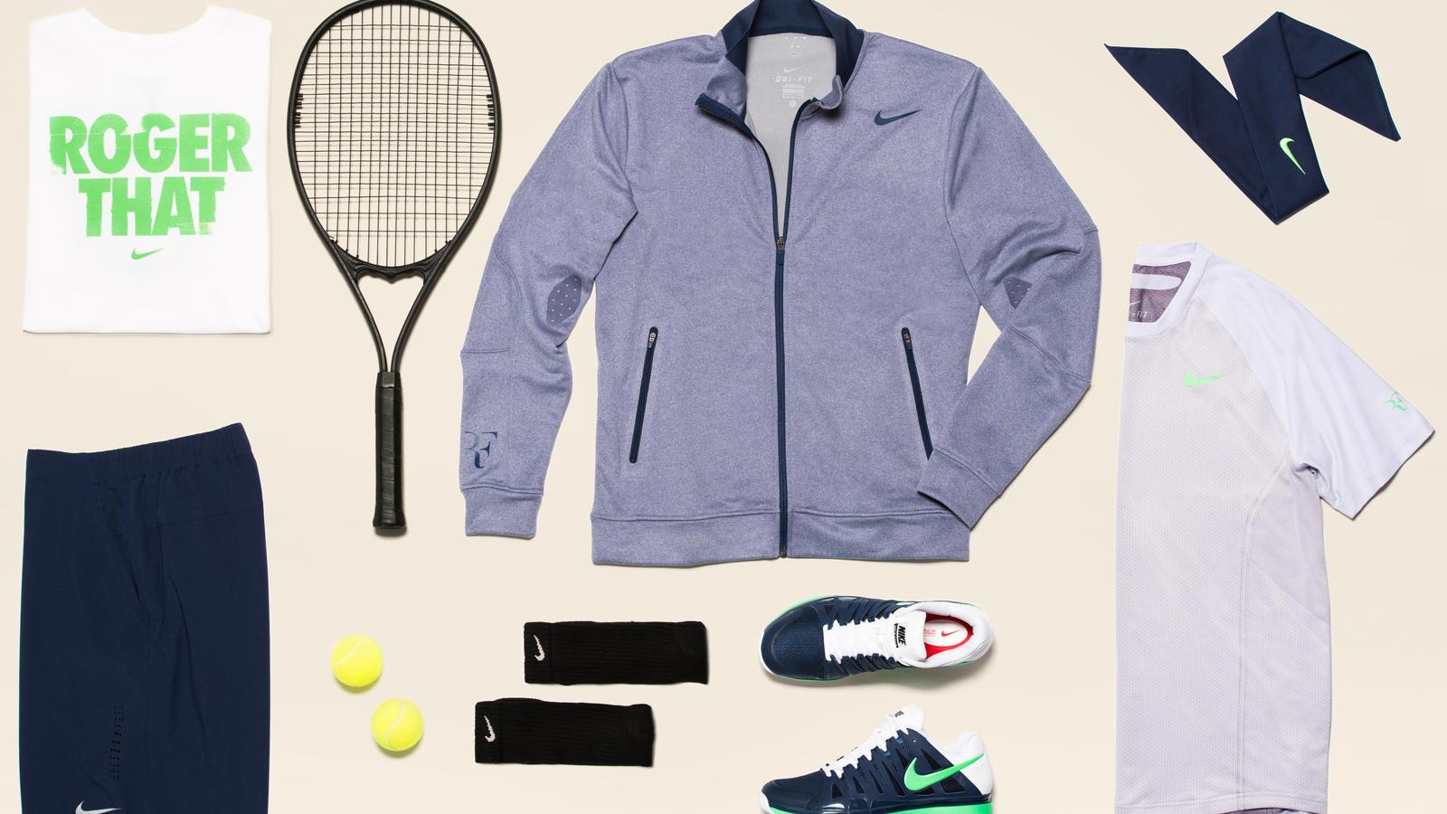 Roger Federer Gear