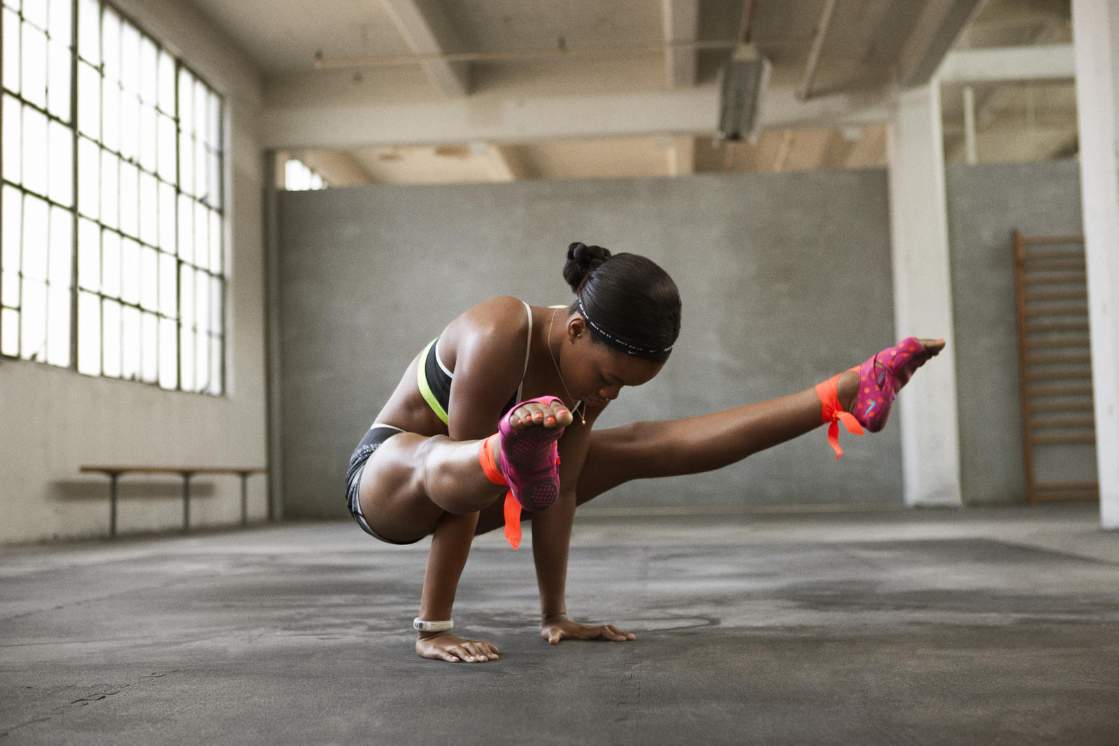 Get Going With Gabby Douglas S New Nike Training Club