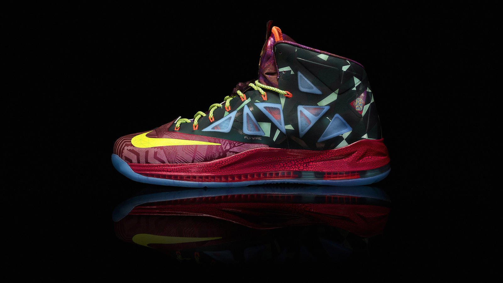 LEBRON X MVP Shoe - Nike