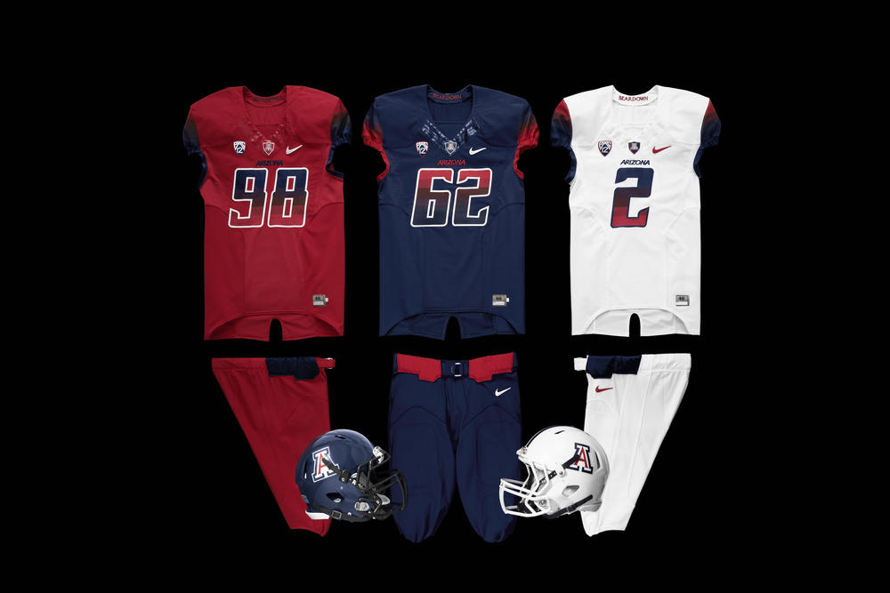 Arizona Football Reveals New Look for 2013
