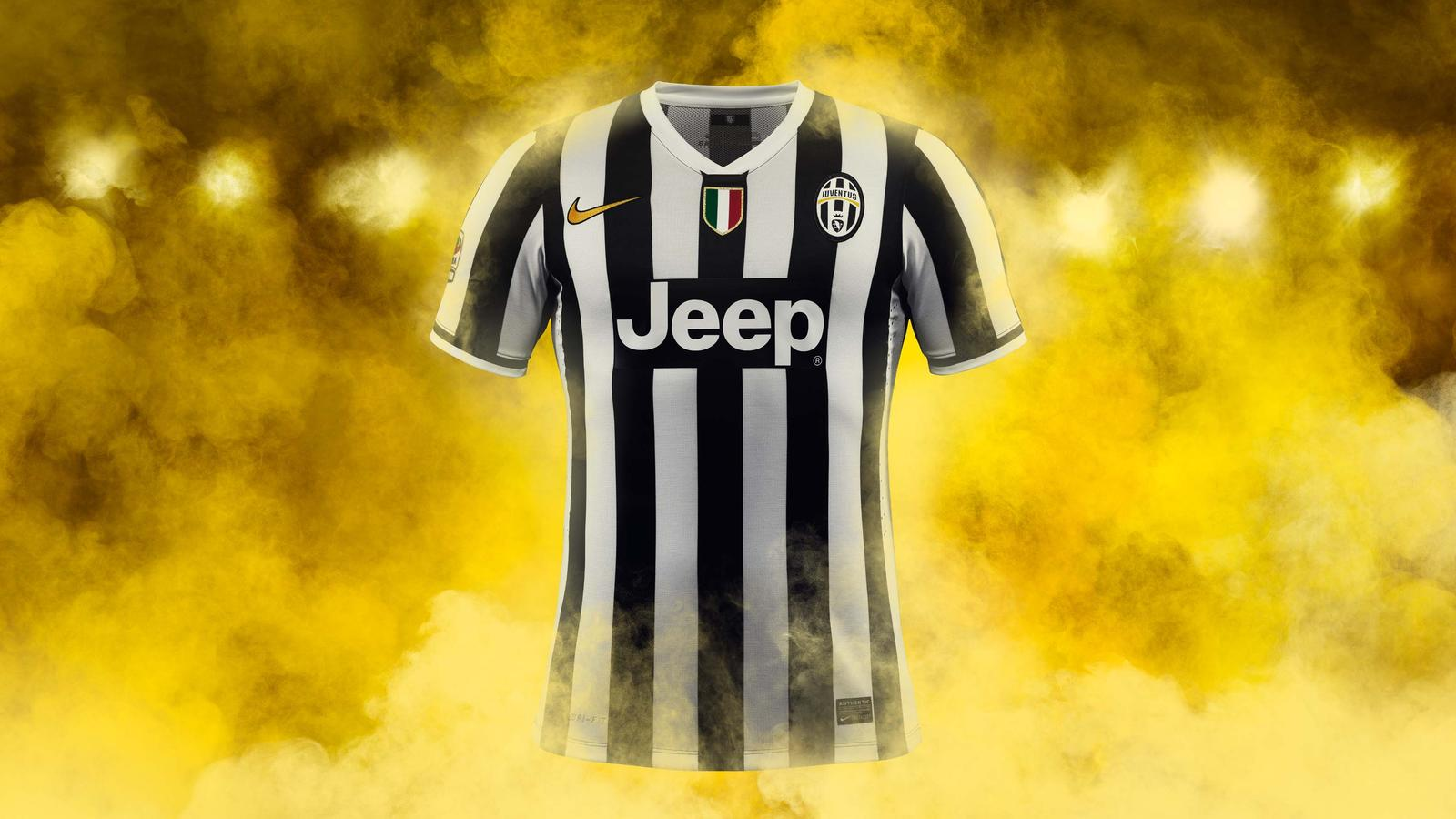 f565c0e00 New Juventus home kit by Nike features tailored fit
