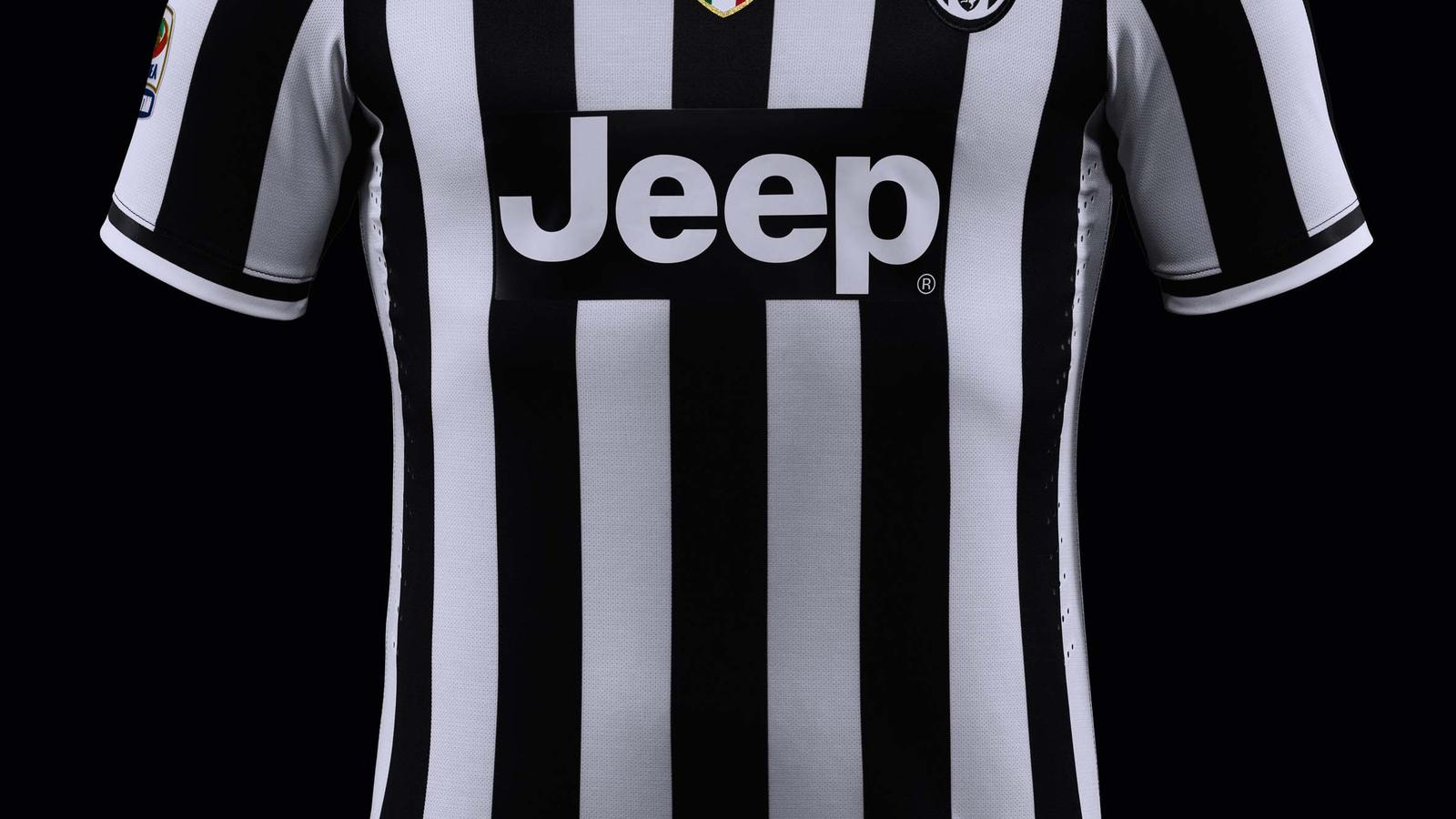 newest 782f3 f5798 New Juventus home kit by Nike features tailored fit, 1980s ...