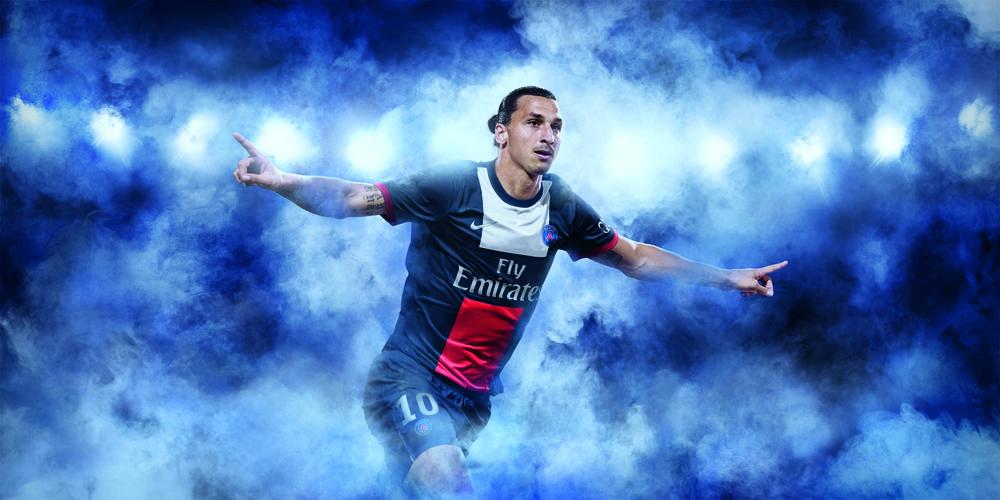 French Champions Paris Saint-Germain Celebrate new Nike Home Kit