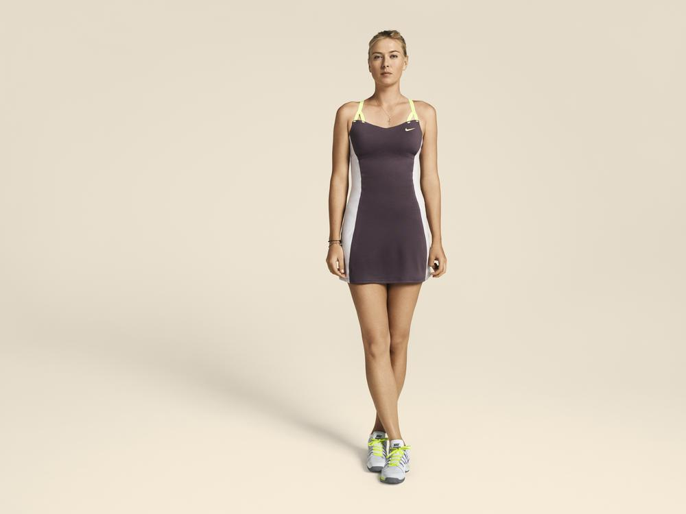 Maria Sharapova Debuts Customized Nike Look for Paris