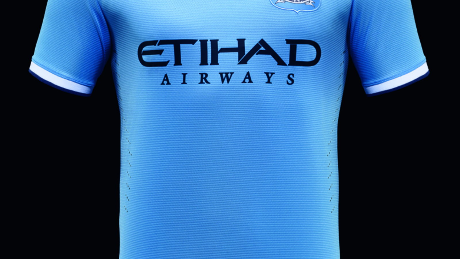 the best attitude ce99f 23ecf Nike Unveils First Manchester City Home Kit on New York Tour ...