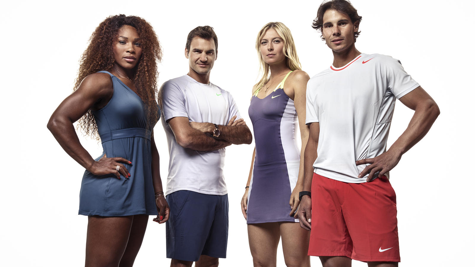 Tennis icons group shot