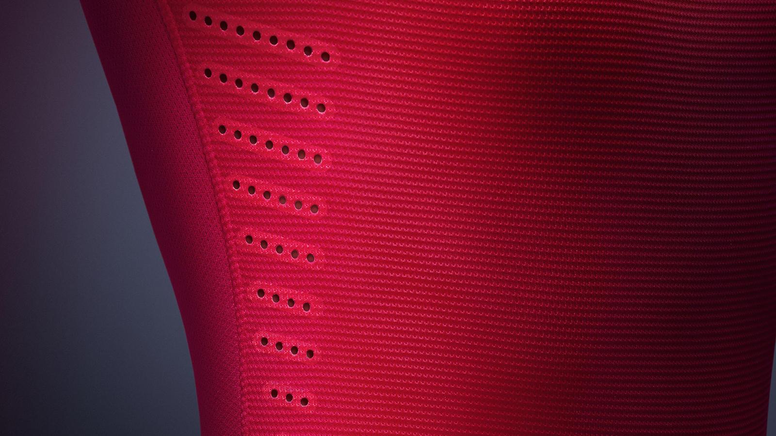 Shirt venting