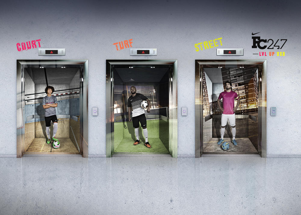 Nike Brings Ultimate Small-sided LVL UP Tournament to Dubai