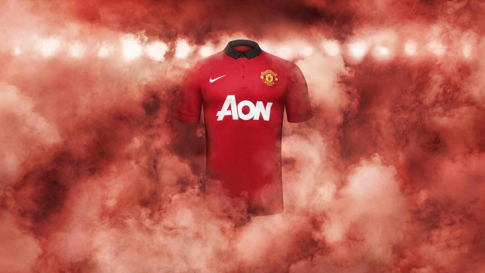 Fa13 Fb Club Kits Man U Authentic Home Hero
