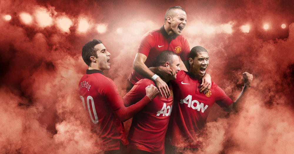 553253450 Nike Unveils Manchester United Home Kit for 2013-14