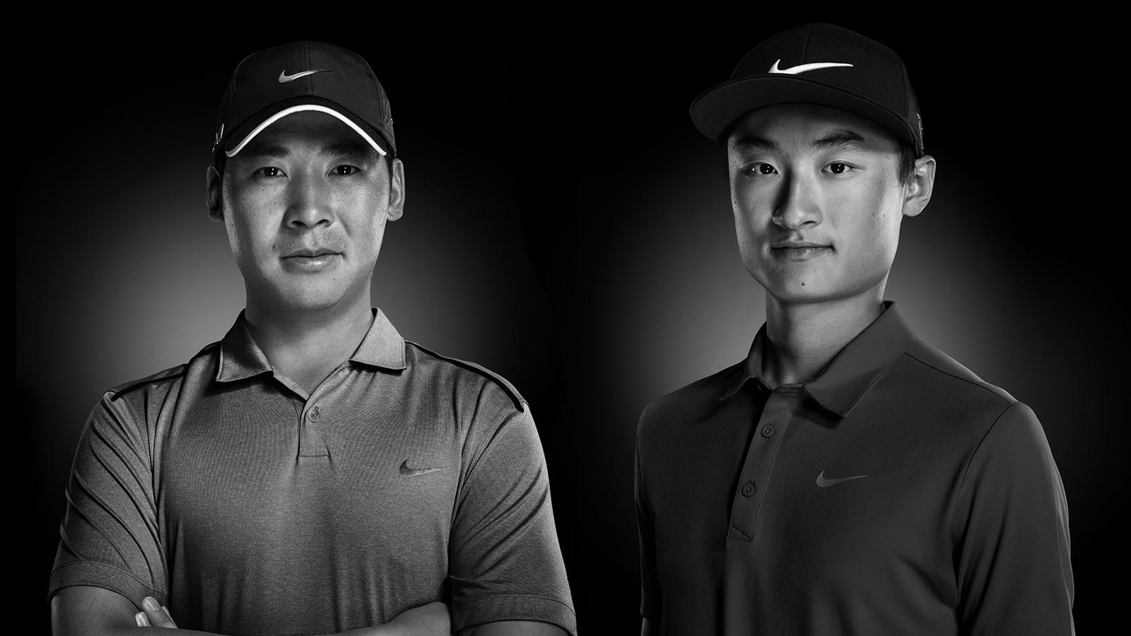 New Nike Athletes Zhang and Li