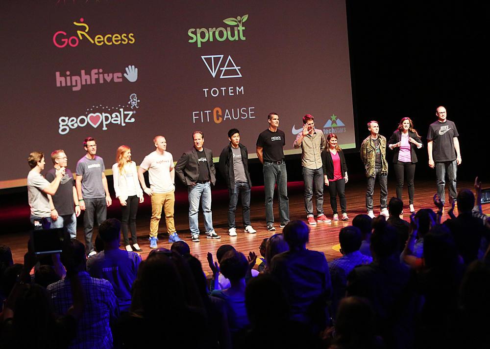 Nike+ Accelerator Companies Pitch Investors at San Francisco Demo Day