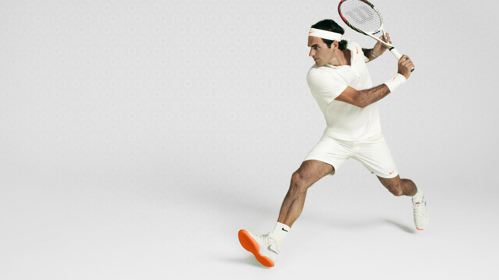 Nike Zoom Vapor 9 Tour Federer Action